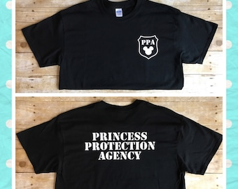PPA Princess Protection Agency Shirt
