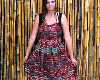 Boho Gypsy Apron - One of a Kind - Guatemalan - Mayan