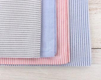Cotton Stripes Napkins - Set of 18