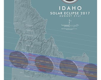 Idaho Solar Eclipse 2017