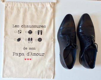 Shoe bag - father's day