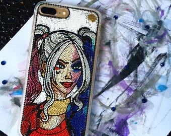 Harley Quinn Phone Case Suicide Squad  iphone case iphone 7 plus case Samsung Galaxy S4 S5 S6 edge iPhone 6 Plus