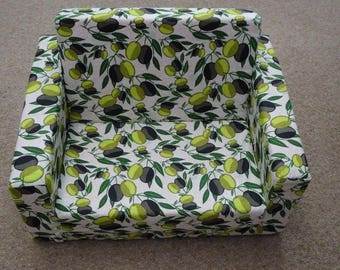 Flip Out Sofa Cover, Kids Couch Cover, Foldout couch/sofa cover, Folding day bed cover, Fabric couch cover, Foam couch cover