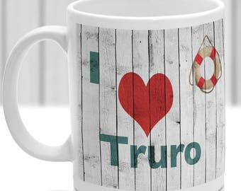 Truro mug, Gift to remember Cornwall, Ideal present,custom design.