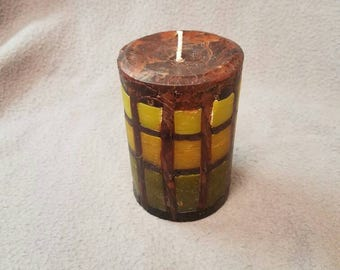 """White Tea and Ginger - 4.5"""" Pillar Candle"""