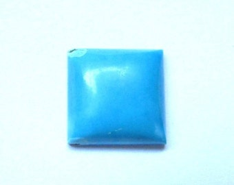 1 pcs 14mm Sleeping Beauty Arizona TURQUOISE Square Cabochon Smooth polished gemstone