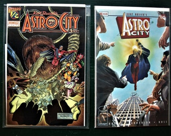 Kurt Busick's Astro City - Lot of 2 - by Homage Comics no. 1/2 and 1 - NM with Certificate of Authenticity