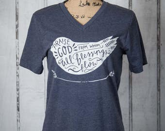 Praise God from whom all blessings flow - adult sizes