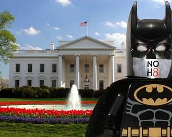Lego Photography - NOH8 Batman