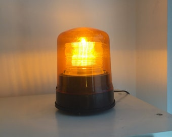 Lamp light industrial vintage / industrial light flashing Lamp