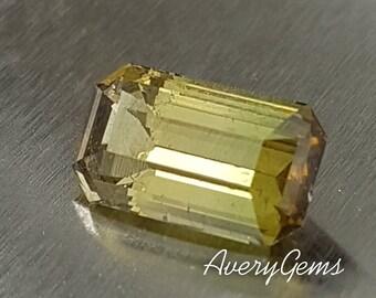 Tourmaline 3.9 Ct Loose Gemstone Natural Ror Engagement Ring Tourmaline Ring Necklace Precious Gemstone Precision Cut By AveryGems
