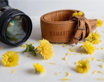 Leather camera strap. Canon, Nikon Camera Strap. Camera Accessories