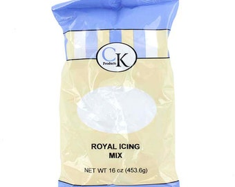 CK Products White Royal Icing Mix 1 lb