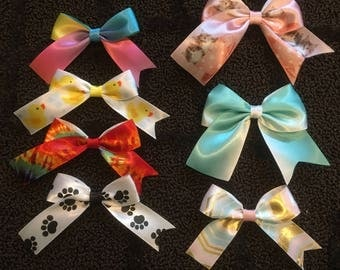 Small Single Bows/Patterned Bows