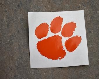 Clemson Tigers Decal/Clemson University Decal/Clemson Car Decal/Clemson Cup Decal/Clemson Tigers/Clemson Football