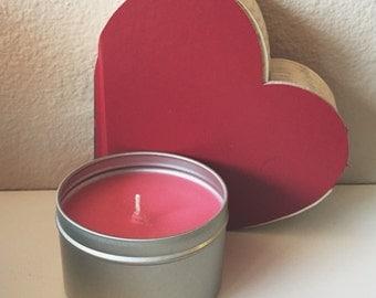 cinnamon candle // 8 oz