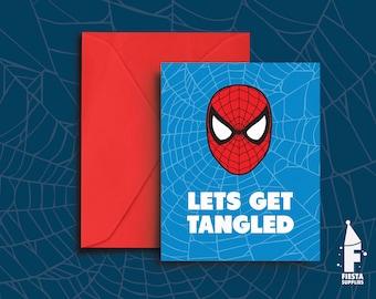 Spiderman Valentine Etsy