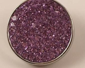 18mm Snap, Color - Purple
