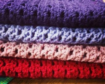 Simple Crochet Cowls