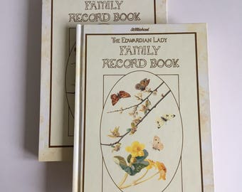 The Edwardian Lady Vintage 70's 'St Michael's Family Record Book