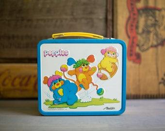 Popples Vintage Lunchbox