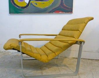 Pulkka Lounge Chair FINLAND Ilmari Lappalain for Asko 1960s Danish Modern Eames Era