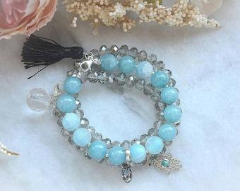 "Bracelet ""BLUE happiness"""