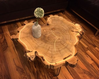Coffee table | Bedside table | Side table | Hairpin leg | Tree pane