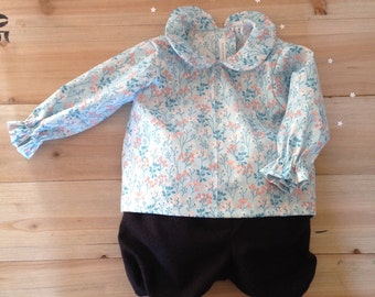 blouse and shorts for Girls