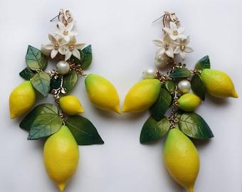 Lemons earrings on sale