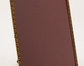 Large Brass Photo Frame, Circa 1930