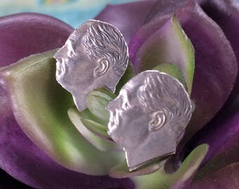Dime Earrings FDR Unique Jewelry Unique Gift Coin Jewelry
