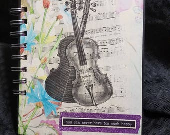 You Can Never Have Too Much Happy Note Book Journal