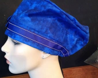 SURGICAL SCRUB HAT with bow