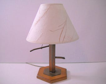 Water Pump Lamp with Matching Shade