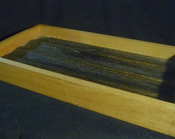 Dovetail Reclaimed Oak Tray