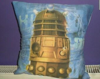 Dalek Cushion made from original Fabric