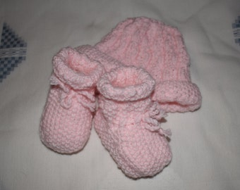 Baby Socks and Hat