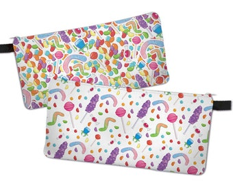 Candy Pencil Case Candies Make Up Bag Colorful Candy Pattern ***MTO***