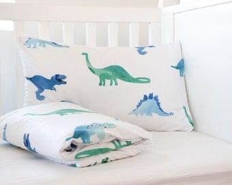 Dinosaur Comforter - Boy Comforter - Boy Gift - XL Comforter - Boy Bedding - Crib Bedding - Toddler Comforter - Twin Comforter