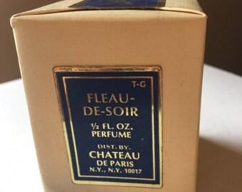 Vintage Fleu-De Soir