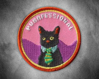 Purrfessional Patch