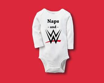 Naps and WWE.
