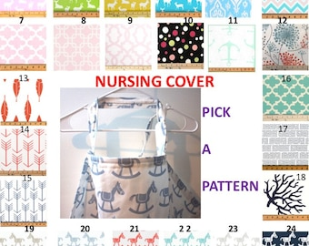 Large Nursing cover - Breastfeeding cover - Hooter hider - Baby shower gift - Baby care cover - Feeding cover up - Nursing cover up -Nursing