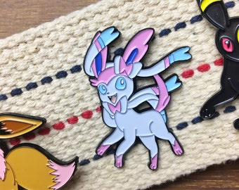 Pokemon Soft Enamel Pin - Sylveon Enamel Pin