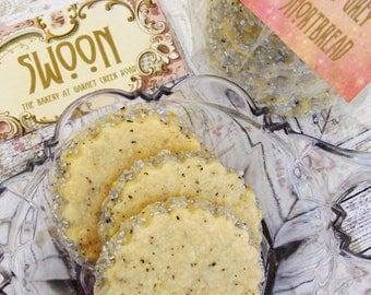 Earl Grey Shortbread Cookies Gift Box Lemon Shortbread ~ Bergamot Cookies ~ Father's Day Cookies