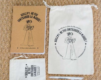 """""""Angry bride"""" L'ESSENTIEL PACK / large ladle, small ladle, notebook & pen"""
