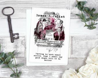 Romeo And Juliet Card - Literary Gift