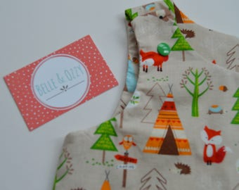 Forest Pinafore Dress