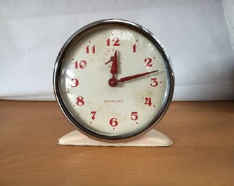 Vintage Westclox wind up alarm clock